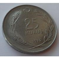 """Турция 25 курушей 1970 """"Турчанка"""""""
