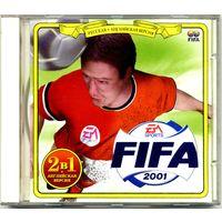 """CD """"FIFA 2001"""" Русская + английская версии (для старых PC)"""