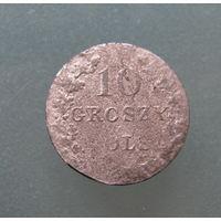 10 грош 1831 K G Восстание.