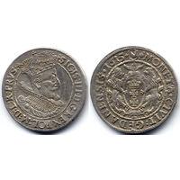 Орт 1615, Сигизмунд III Ваза, Гданьск. На Рв у лап львов - миниатюрные буквы SA, R1!