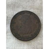 Великобритания Друид 1/2 пенни 1788 г. Редкая