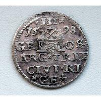 ТРОЯК 1598 Сигизмунд III Рига