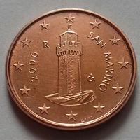 1 евроцент, Сан-Марино 2006 г., UNC
