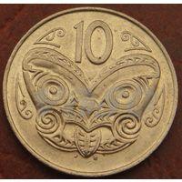 4713:  10 центов 1988 Новая Зеландия