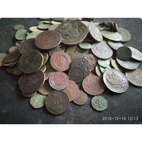 Монеты сборный лот около 500 шт
