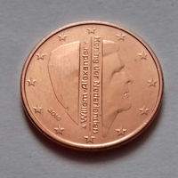 5 евроцентов, Нидерланды 2016 г., AU