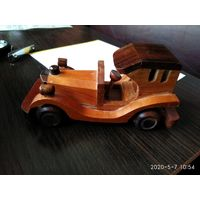 Сувенир из дерева Ретро-Автомобиль Испания.