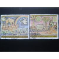 Ватикан 1974 100 лет ВПС, мозаика полная серия