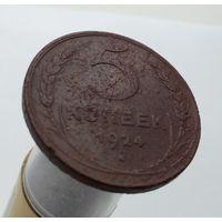 5 копеек 1924 года, выпуклый шар, глубокая сетка!!! Очень редкая монета!!! 100% ОРИГИНАЛ!!! С 1 рубля! Без МЦ!!!