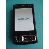 Симбиан смартфон  двухсторонний слайдер Nokia-n95-8gb,оригинал очень редкая модель,Финская сборка.