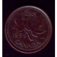 1 цент 1999 год Канада