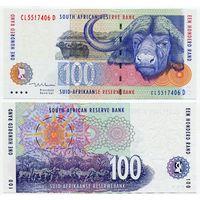 Южная Африка. 100 рэнд (образца 1999 года, P126b, UNC)