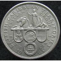 Бр. Карибские острова 50 центов 1965 (429)