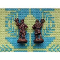 Древний Рим и Галлия. Римляне в ритуальных шкурах с орлами легионов.