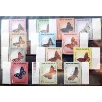 Иран.Бабочки.Стандарт 2003-2005гг. Полные серии.
