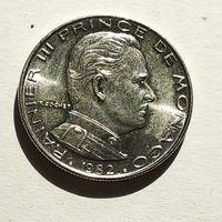 Монако 1 франк, 1982 5-5-21