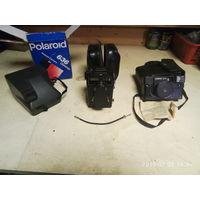 Фотоаппараты: Палароид 636, Ломо Любитель 166В, Эликон 35см