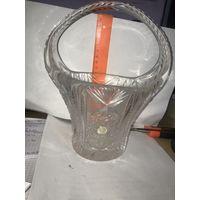 Хрустальная ваза Неман