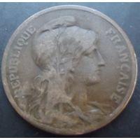 Франция. 5 сантимов 1901