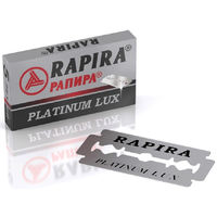 Лезвия для бритья Rapirа Platinum Luх 12 упаковок.