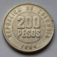 Колумбия, 200 песо 1994 г.