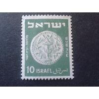 Израиль 1950 монета 10