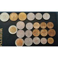 Набор монет России и ГКЧП.Без повторов разные мд.