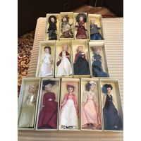 Куклы фарфоровые Дамы Эпохи