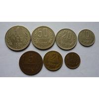 Болгария. лот из 7 монет.