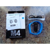 Фитнес-браслет Smart M4 (синий)