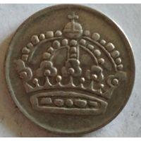 Швеция 50 эре 1958 серебро