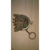 Кошелек сувенирный кольчужного плетения малый 2