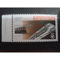 Канада 1986  поезд