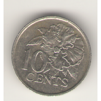 10 центов 1977 г.