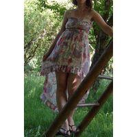 Платье сарафан модель ''Ласточкин хвост''. Размер S 40-42