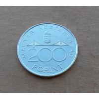 Венгрия, 200 форинтов 1994 г., серебро