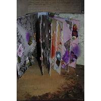 """Альбом для фотографий-""""Устеленный Розами""""-в стиле скрапбукинг. Выполнен из материалов архивного качества в ед./экз. Новый, - повтор не возможен -!"""