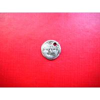 Монета Греческий Неаполь. 5 век до н. э. Серебро.