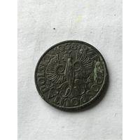 Польша 5 грошей 1938