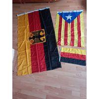 Спортивные флаги для интерьера