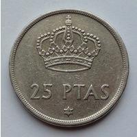 Испания 25 песет. 1975. 76