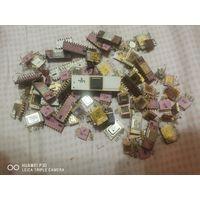 Микросхемы керамические СССР, 85 шт, 110грамм