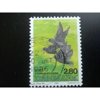 Дания 1986 птицы