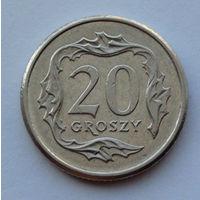 Польша 20 грошей. 1998
