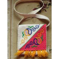 Дизайнерская сумка ручной работы