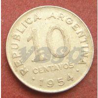 6304:  10 сентаво 1954 Аргентина