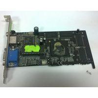НЕРАБОЧАЯ видеокарта GeForce2 MX400 64M. Читайте описание