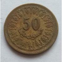 Тунис, 50 миллимов 1960 год