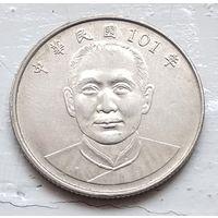 Тайвань 10 долларов, 101 (2012) 4-9-11