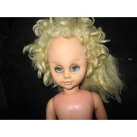 Кукла из СССР.высота 60 см.